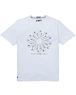 Weekend Offender Trainer Wheel T-Shirt L