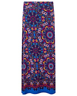 Monsoon Myla Print Maxi Skirt