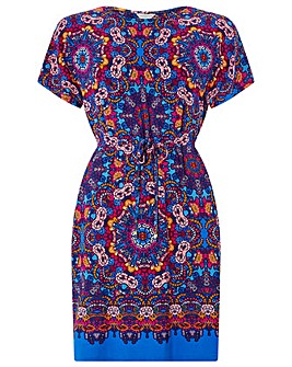 Monsoon Myla Print Tunic Dress