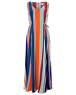 Monsoon Eliana Stripe Maxi Dress