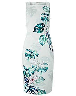 Monsoon Arianna Print Shift Dress
