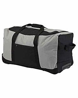 Large Wheeled Holdall Black/Grey