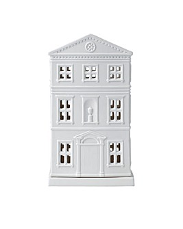 Wedgwood Christmas House Lithophane