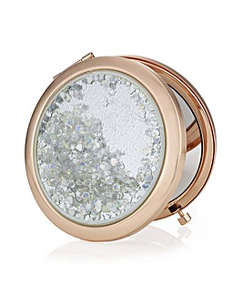 Mood Crystal Shaker Compact Mirror