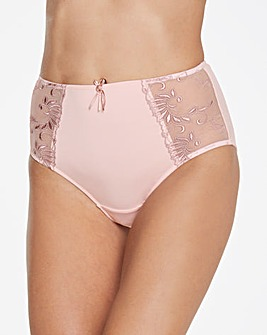 Pour Moi Imogen Rose Embroidered Briefs