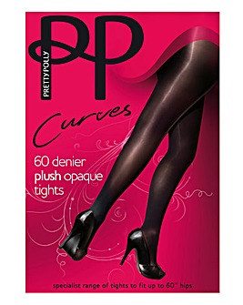 Pretty Polly Curves Opaque Tights