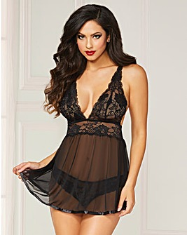 Seven Til Midnight Wondrous Babydoll Set