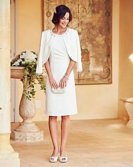 Joanna Hope Jewel Trim Dress and Jacket