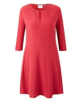 Junarose Red Skater Dress
