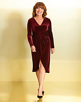 Lorraine Velour Dress