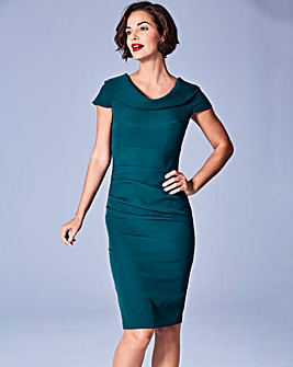 Eden Row Virginia Ruched Dress
