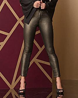 Saskia Glitter Shimmer Super Slim Jeans