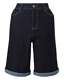 Everyday Knee Length Denim Shorts
