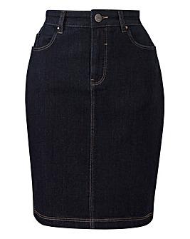 Everyday Denim Pencil Skirt