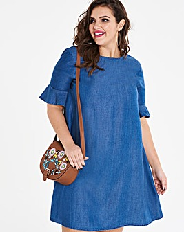 Tencel Smock Dress