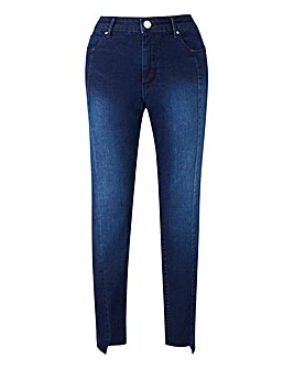 Sadie Slim Leg Stepped Hem Jeans