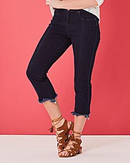 Drew Panel Straight Leg Jeans