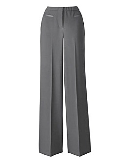 MAGISCULPT Wide Leg Trousers Extra Short