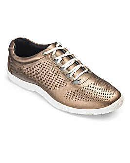 Heavenly Soles Lace Up Shoes E Fit