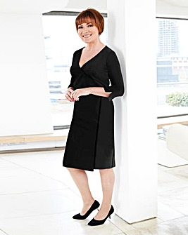 Lorraine Kelly Plain ITY Wrap Dress