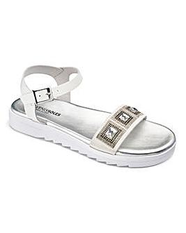 Heavenly Soles Jewel Sandals D Fit