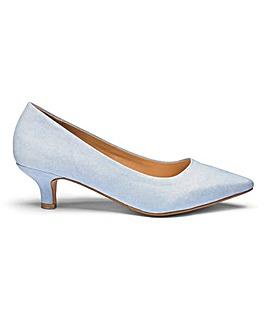 Kitten Heel Court Shoes D Fit