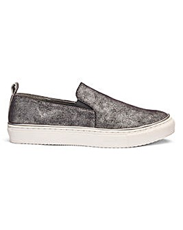 Heavenly Soles Slip On Shoes EEE Fit