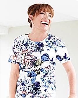 Lorraine Kelly Scuba Shell Top