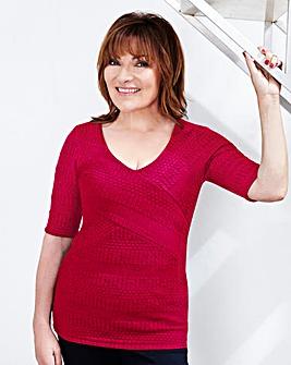 Lorraine Kelly Textured Top