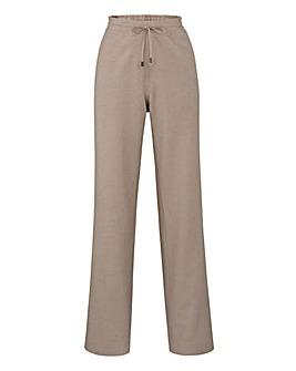 Linen Mix Trousers - Short
