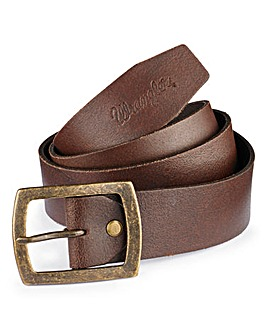 Wrangler Leather Central Bridge Belt