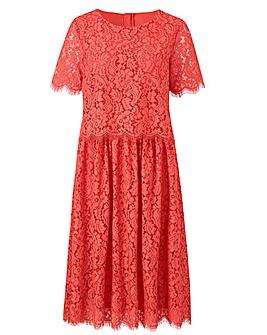 Lace Layer Prom Dress