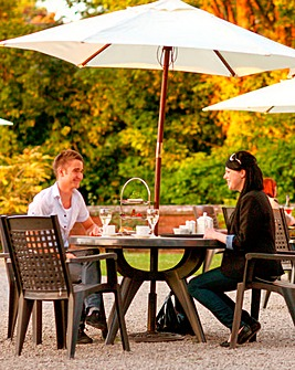Champagne Tea for Two at Ruthin Castle