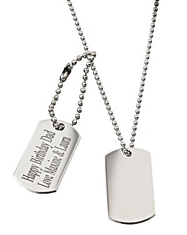 Personalised Dog-tag Necklace