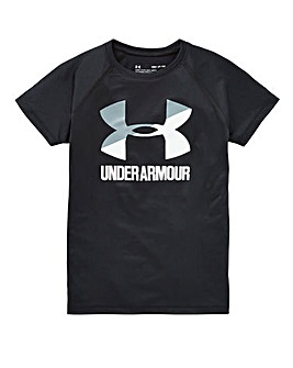 Under Armour Girls Big Logo T-Shirt