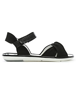 Fly London Suede Knotted Strap Sandals