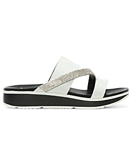 DF By Daniel Wicket Diamante Sandals
