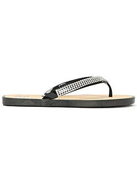 DF By Daniel Sunflowers Flip Flop