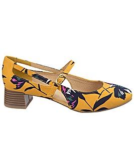 Ruby Shoo Tara Slip-On Heels
