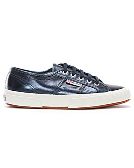 Superga Cotmetu Metallic Canvas Trainers