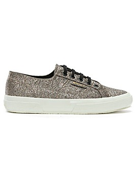 Superga Micro Glitter Metallic Trainers