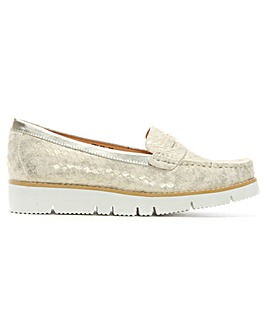DF By Daniel Forset Reptile Loafers