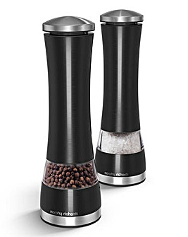 Electronic Salt and Pepper Mill Set
