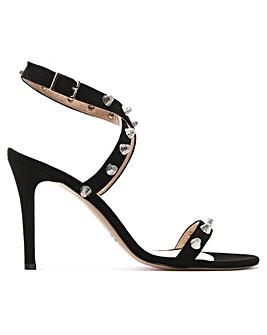 Daniel Arsya Suede Studded Sandals