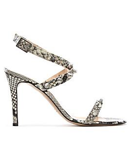 Daniel Arsya Reptile Studded Sandals