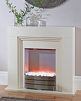 Winterley Ivory Compact Fireplace Suite