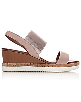 Moda In Pelle Niah Cork Sole Sandals