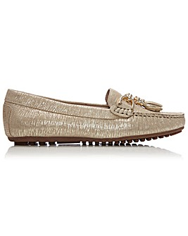Moda In Pelle Elleh Metallic Loafers