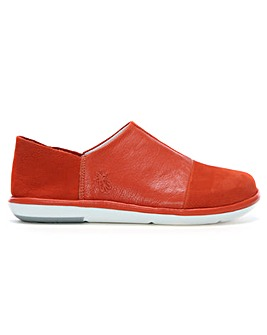 Fly London Leather Panel Slip On Shoes
