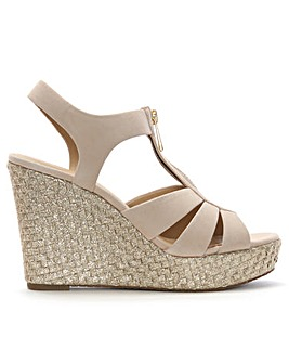 Michael Kors Berkley Suede Wedges